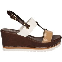 Schuhe Damen Sandalen / Sandaletten Cinzia Soft IAS939405 Wedge sandals Frauen Brown Brown