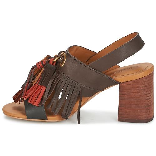 See by Chloé Chloé Chloé SB30102 Braun  Schuhe Sandalen / Sandaletten Damen 252 71330f