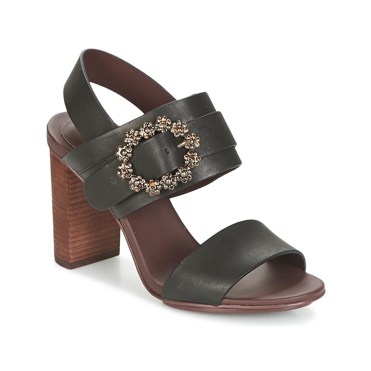 See by Chloé SB30123 Schwarz - Kostenloser Versand bei Spartoode ! - Schuhe Sandalen / Sandaletten Damen 206,50 €