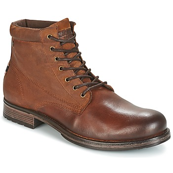 Schuhe Herren Boots Jack & Jones JUSTIN Braun