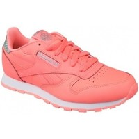 Schuhe Kinder Sneaker Low Reebok Classic Leather Paster