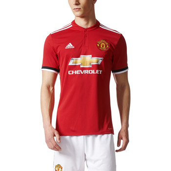 Kleidung Herren T-Shirts adidas Performance Maillot Replica Manchester United Domicile 17/18