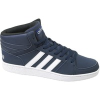 Schuhe Herren Sneaker High adidas Originals VS Hoops Mid Dunkelblau