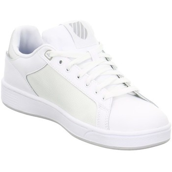 Schuhe Damen Sneaker Low K-Swiss Clean Court Cmf Weiß