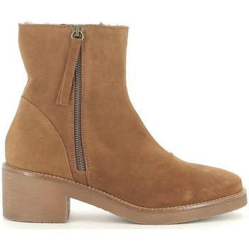 Schuhe Damen Low Boots Bryan 101 Marron
