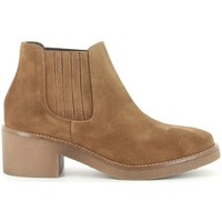 Schuhe Damen Low Boots Bryan 105 Marron