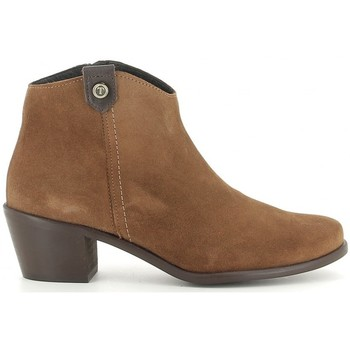 Schuhe Damen Low Boots Oskarbi 90.300 (5902) Marron