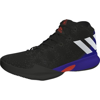Schuhe Kinder Sneaker High adidas Originals CRAZY HEAT J NEGRO