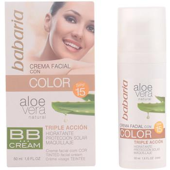 Beauty Damen BB & CC Creme Babaria Aloe Vera Bb Cream Spf15  50 ml
