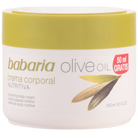 Beauty Damen pflegende Körperlotion Babaria Aceite De Oliva Crema Nutritiva Corporal  250 ml