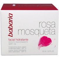 Beauty Damen pflegende Körperlotion Babaria Rosa Mosqueta Hidratante 24h Crema Facial  50 ml