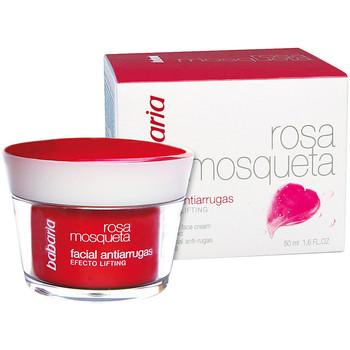 Beauty Damen pflegende Körperlotion Babaria Rosa Mosqueta Antiarrugas Crema Facial  50 ml