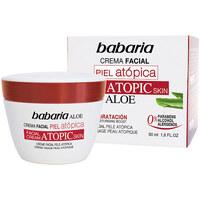 Beauty pflegende Körperlotion Babaria Piel Atopica Aloe Vera Crema Facial 0%  50 ml