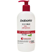 Beauty pflegende Körperlotion Babaria Piel Atopica Aloe Vera Body Milk 0%  400 ml