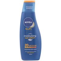 Beauty Sonnenschutz Nivea Sun Protege&hidrata Leche Spf20  200 ml