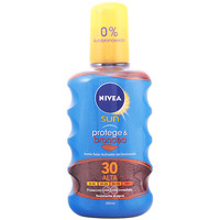 Beauty Sonnenschutz Nivea Sun Protege&broncea Aceite Spf30  200 ml