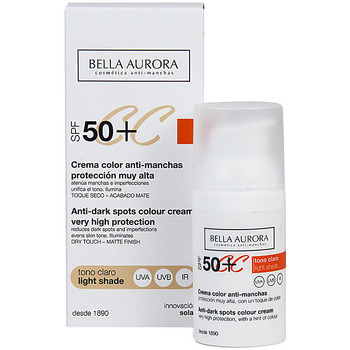 Beauty Damen pflegende Körperlotion Bella Aurora Cc Cream Anti-manchas Tono Claro Spf50+  30 ml