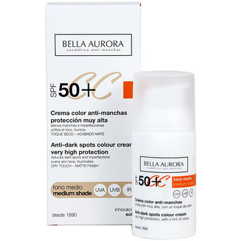 Beauty Damen pflegende Körperlotion Bella Aurora Cc Cream Anti-manchas Tono Medio Spf50+  30 ml