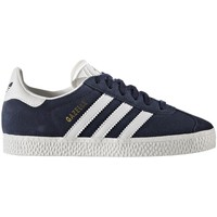 Schuhe Kinder Sneaker Low adidas Originals ZAPATILLAS  GAZELLE ORIGINALS Blau