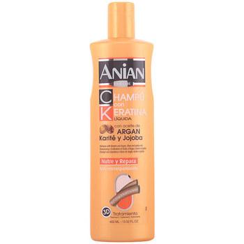 Beauty Shampoo Anian Keratina Liquida Champú Aceite Argán Karité Y Jojoba  400