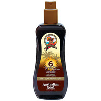 Beauty Sonnenschutz & Sonnenpflege Australian Gold Sunscreen Spf6 Spray Gel With Instant Bronzer  2