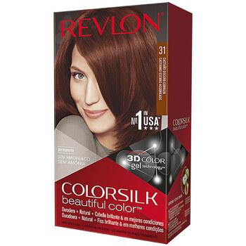 Beauty Damen Accessoires Haare Revlon Gran Consumo Colorsilk Tinte 31-castaño Oscuro Cobrizo