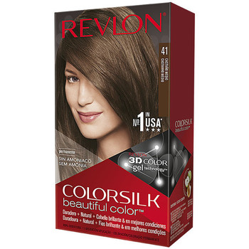 Beauty Damen Accessoires Haare Revlon Gran Consumo Colorsilk Tinte 41-castaño Medio