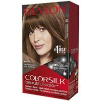 Beauty Damen Accessoires Haare Revlon Gran Consumo Colorsilk Tinte 43-castaño Medio Dorado