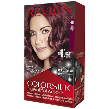 Beauty Damen Accessoires Haare Revlon Gran Consumo Colorsilk Tinte 48-borgoña