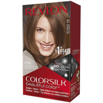 Beauty Damen Accessoires Haare Revlon Gran Consumo Colorsilk Tinte 51-castaño Claro