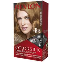 Beauty Damen Accessoires Haare Revlon Colorsilk Tinte 57-castaño Dorado Muy Claro 1 u