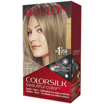Beauty Damen Accessoires Haare Revlon Gran Consumo Colorsilk Tinte 60-rubio Oscuro Cenizo
