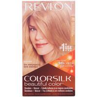 Beauty Accessoires Haare Revlon Gran Consumo Colorsilk Tinte 70-rubio Medio Ceniza
