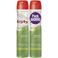 Beauty Deodorant Byly Organic Extra Fresh Deo Zerstäuber Set  2 x 200 ml