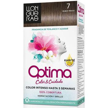 Beauty Accessoires Haare Llongueras Optima Hair Colour 7 Rubio Medio