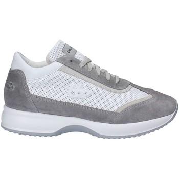 Schuhe Herren Sneaker Low Byblos Blu 672054 Schnurschuh Man Bianco Bianco