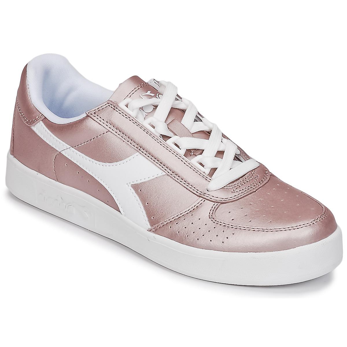 Diadora B ELITE I METALLIC WN Bronze - Kostenloser Versand bei Spartoode ! - Schuhe Sneaker Low Damen 53,99 €