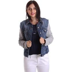 Kleidung Damen Jeansjacken Liu Jo U17064D0219 Jacke Frauen Blau Blau