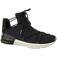 Schuhe Damen Sneaker High Puma FIERCE Black