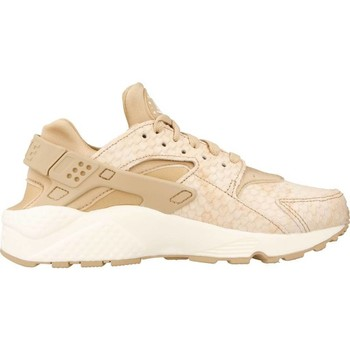 Schuhe Damen Sneaker Low Nike AIR HUARACHE RUN PRM Hellbraun