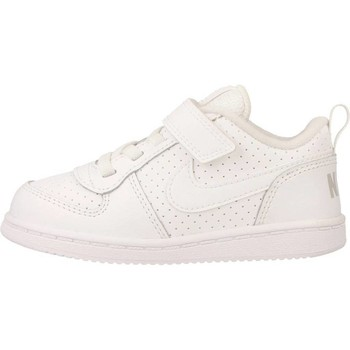 Schuhe Kinder Sneaker Low Nike COURT BOROUGH LOW (TDV) Weiß