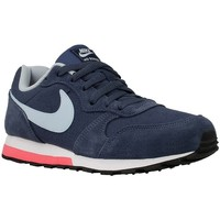 Schuhe Kinder Sneaker Low Nike MD Runner 2 GS Dunkelblau