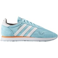 Schuhe Herren Sneaker Low adidas Originals Haven Clear Aqua Weiß-Hellblau