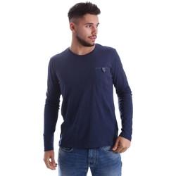 Kleidung Herren Pullover Gas 300155 T-shirt Man Blau Blau