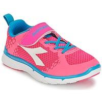 Schuhe Mädchen Sneaker Low Diadora NJ-303-1 JR Rose