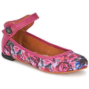 Schuhe Damen Ballerinas Art LILLE Rose