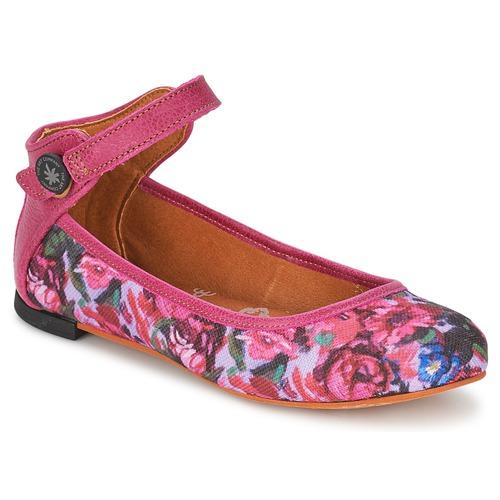 Schuhe Damen Ballerinas Art LILLE Rose