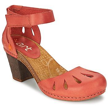 Schuhe Damen Sandalen / Sandaletten Art IMEET Korallenrot