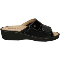 Schuhe Damen Pantoffel Cinzia Soft IAES27-VS Sandals Frauen Black Black