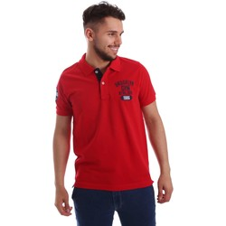 Kleidung Herren Polohemden Key Up 255QG 0001 Polo Man Rot Rot